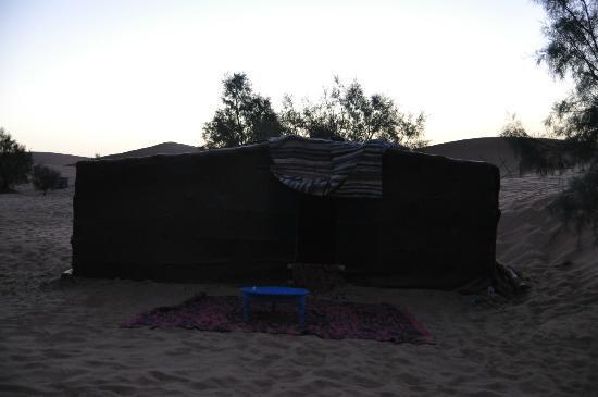 Auberge Africa: sunrise in the bivac