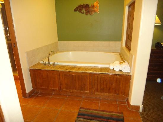Hyatt Pinon Pointe: Jet tub