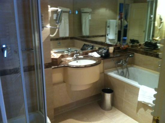 Le Chatelain Hotel : Bathroom