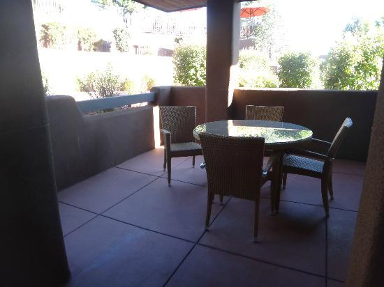 Hyatt Residence Club Sedona, Pinon Pointe: Patio