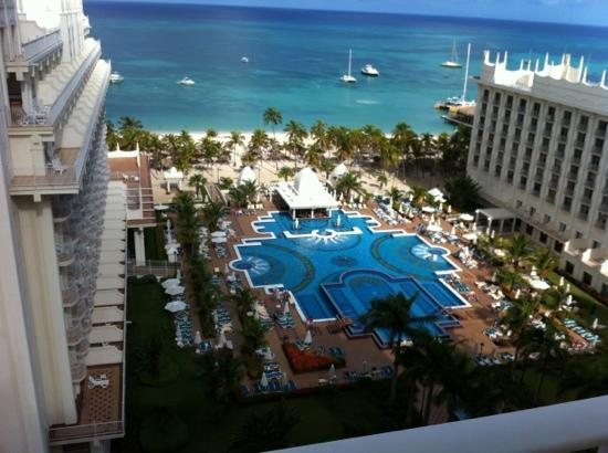 Hotel Riu Palace Aruba: 10th floor.