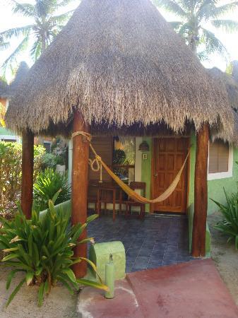 Mahekal Beach Resort: Ons huisje