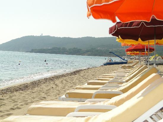 Shellona - Saint Tropez : Aqua Club à Ramatuelle : la plage