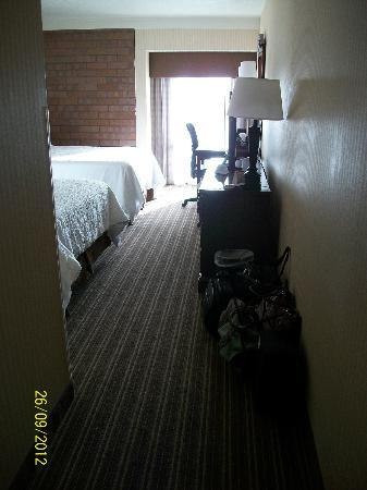 BEST WESTERN Pocatello Inn: Entrance to room