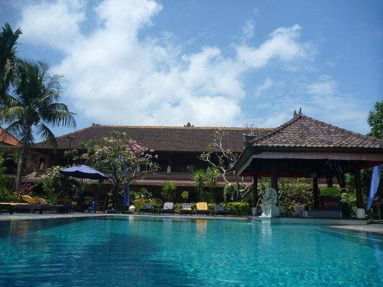 Satriya Cottages: pool & grounds - beautiful