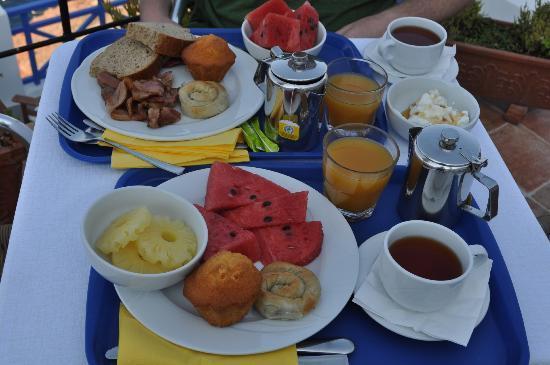 Esperas: breakfast