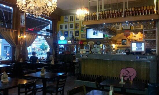 Café le Lombard: The bar
