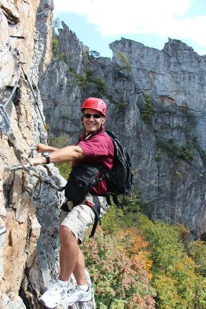 NROCKS Outdoor Adventures: Me on the turn