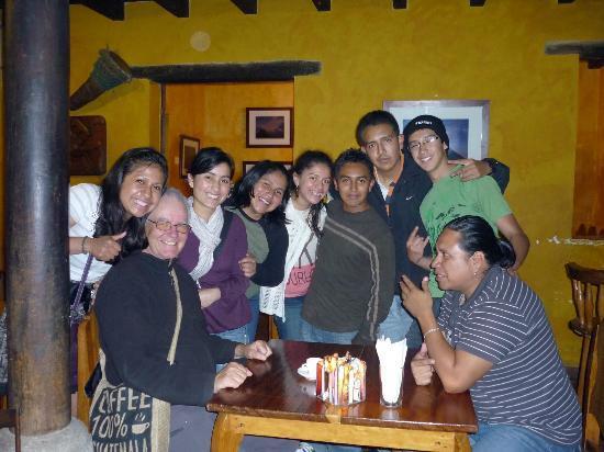 La Peña de Sol Latino : conversando con un comensal ruso