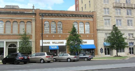 Hank Williams Museum : Downtown Montgomery