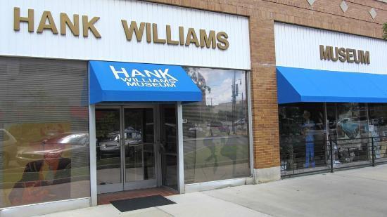 Hank Williams museum