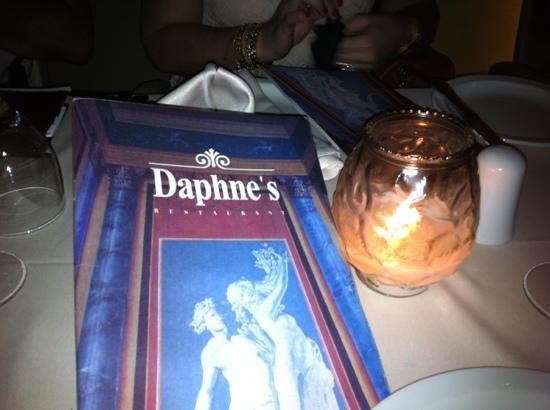 Daphne's: ambiente charmoso