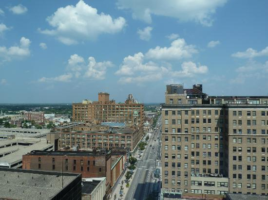 Hyatt Regency Rochester: View from my room
