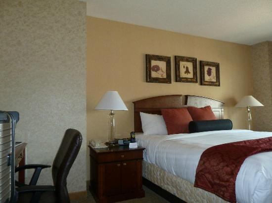 Hyatt Regency Rochester: Comfortable room
