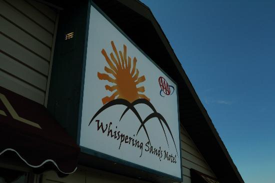 Whispering Sands Motel: Motel Office