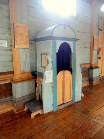 Iglesia de Santa María de Loreto: Confesionario