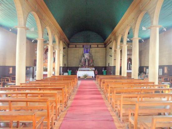 Nuestra Senora de los Dolores Church: Vista del Altar