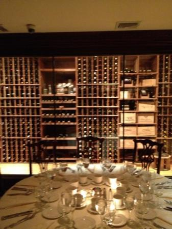 East Meadow, NY: wine cellar