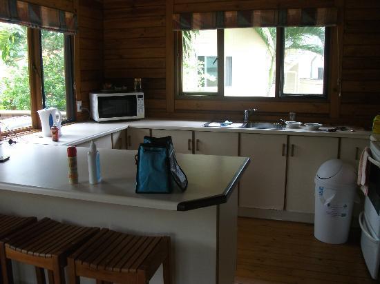 Manea Beach Villas: kitchen in 3 bdrm villa