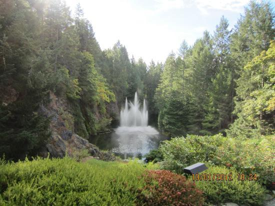 Ross Fountain Picture Of Butchart Gardens Central