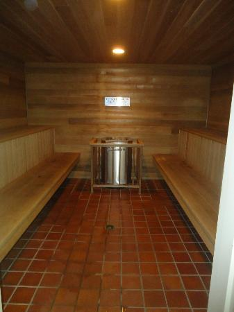 Best Western Jasper Inn & Suites: Big sauna