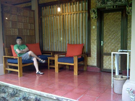 Jati Home Stay: terrace of your room
