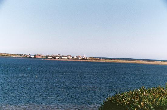 Anchor Inn by the Sea: View looking across the bay