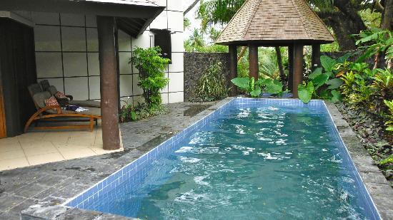 كورو سان ريزورت: our private pool an hot tub 