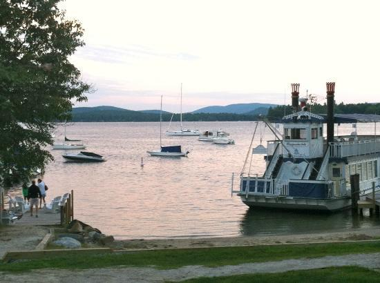 The Wolfeboro Inn: View from Wolfeboro Inn beach