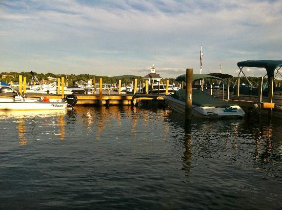 The Wolfeboro Inn: View from Wolfeboro Inn dock