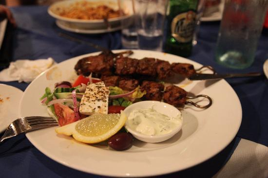 El Greco Greek Taverna: Best lamb skewers!!