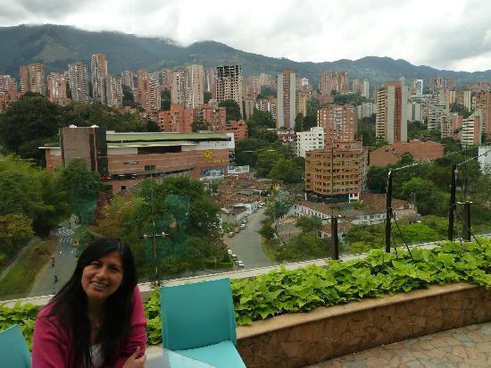 Diez Hotel Categoria Colombia: vista terraza