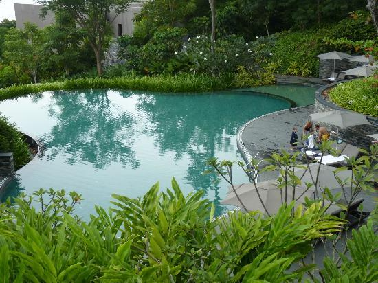 Capella Singapore: amazing pool