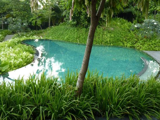 Capella Singapore: one of the most beautiful pool