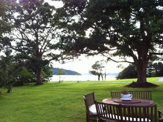 The Red Door Country House: view over Lough Swilly