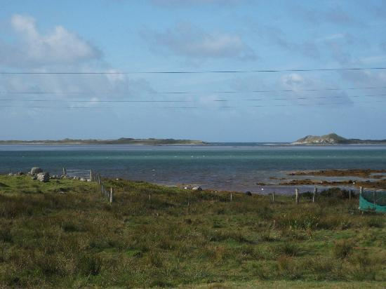 Temple View Hotel: One of the breath-taking views from North Uist