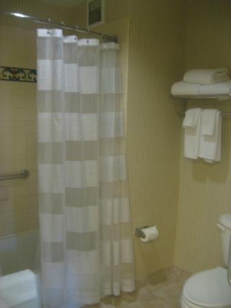 HYATT house San Diego/Carlsbad: Spaceous bathroom