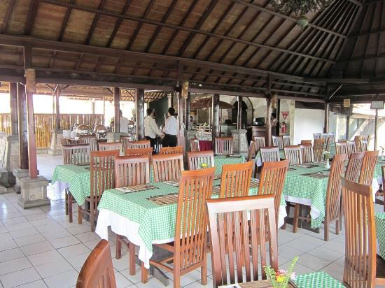 Saranam Eco Resort Bali: restaurant's atmosphere