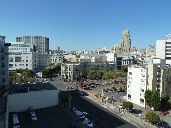 Holiday Inn Civic Center (San Francisco): Vue chambre