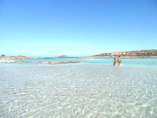 Strand von Elafonissi: la distesa da vivere camminando, camminando