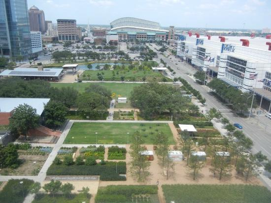 Hilton Americas - Houston: View from my room