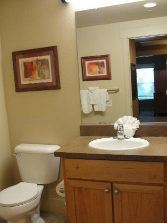 WorldMark Windsor: Guest bathroom