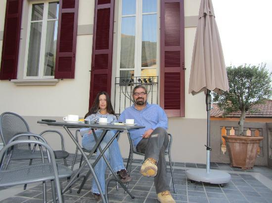 Casa Brenna Tosatto: coffe at the balkony