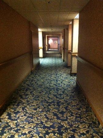 Best Western Plus Port O'Call Hotel: Hallway