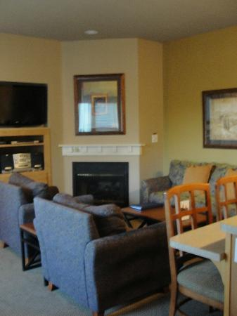 WorldMark Windsor: Living room, nice and cozy