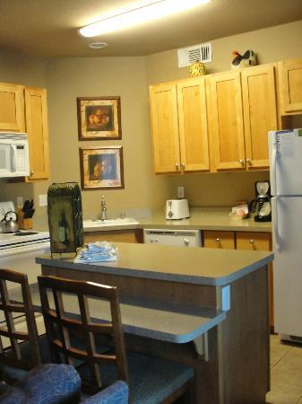 WorldMark Windsor: Loved the kitchen!