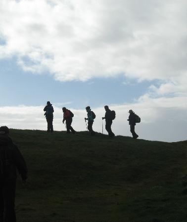 Joyce's Ireland Hiking Tours: Hiking near Dingle, County Kerry