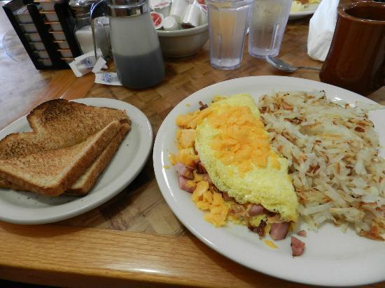 Pancake Haus: Omelette