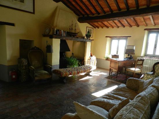 Domus Etrusca Agriturismo: il salottino