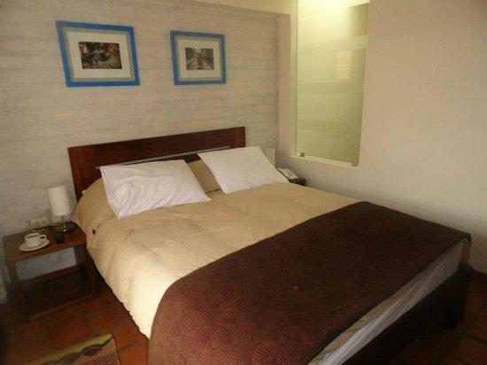 La Morada: our bed